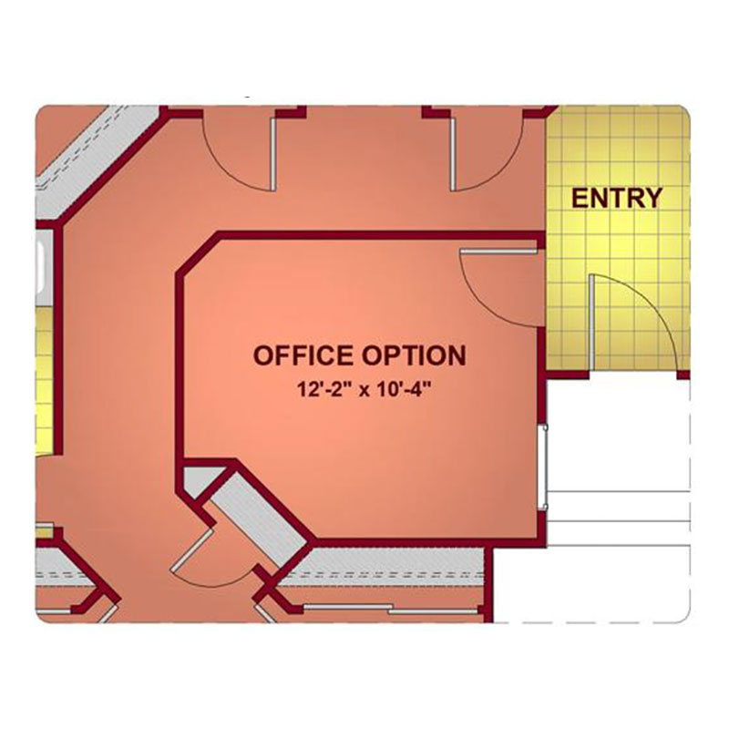 Model 1977 - Office Floor Plan
